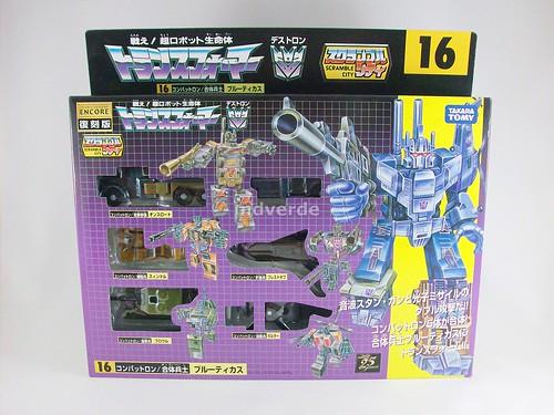 Transformers Combaticons G1 Encore - caja