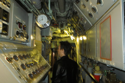 interior of submarine