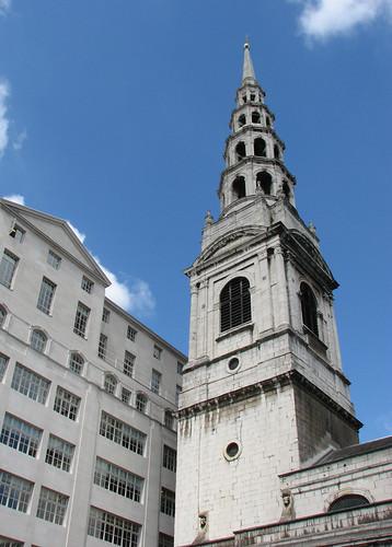 St Bride's Church spire