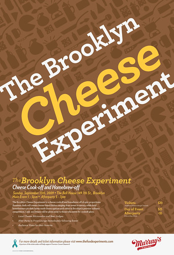 Brooklyn Cheese Experiment