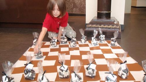 Schachfiguren essbar
