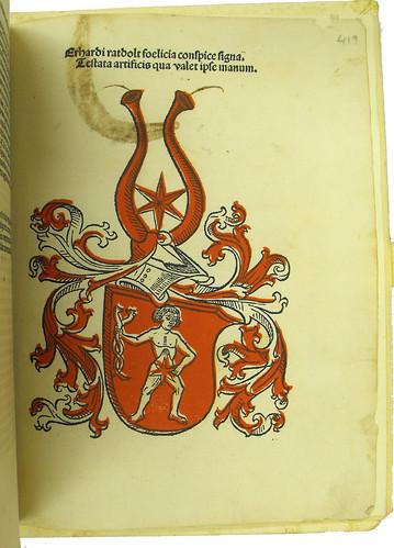 Printer's device in Bonatus, Guido: Decem tractatus astronomiae