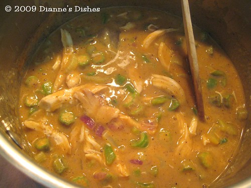 Chicken Gumbo: Ready to Simmer