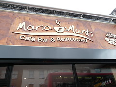 Maria e Munti - new cafe around my street