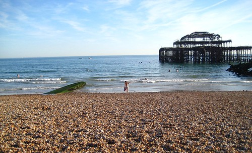 The Burnt Structure of West Pier - Brighton