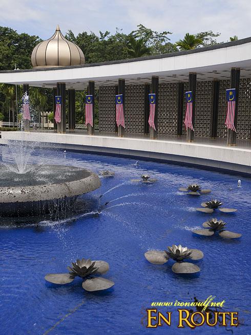 Tugu Negara Fountain