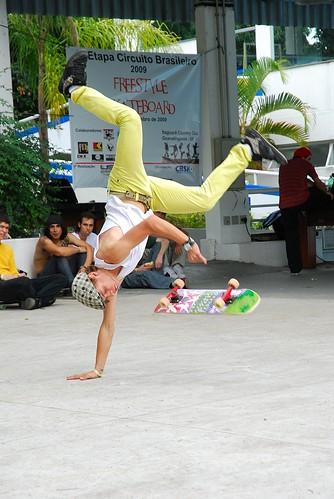 1ª Etapa do Circuito Brasileiro de Skate FreeStyle