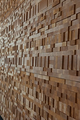 Wall of Wood -- Vancouver Convention Centre
