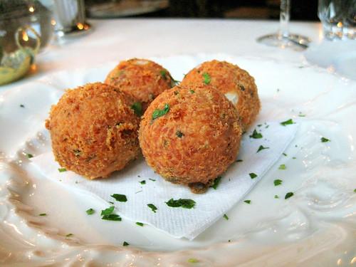 rice balls @ bacaro