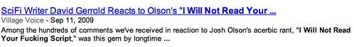 Google News Screening