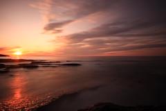 Minch Sunset. (Gordie Broon.) Tags: longexposure sunset seascape nature water geotagged photography scotland scenery rocks alba scenic escocia highland sutherland schottland ecosse assynt scottishhighlands westernhighlands theminch canoneos40d stoerpeninsula saariysqualitypictures gordiebroon