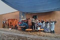 Quasi terminato ... Almost finished... (Tati@) Tags: painting tati muralart tradizione piccolomondoantico nureci angelopilloni annatatti