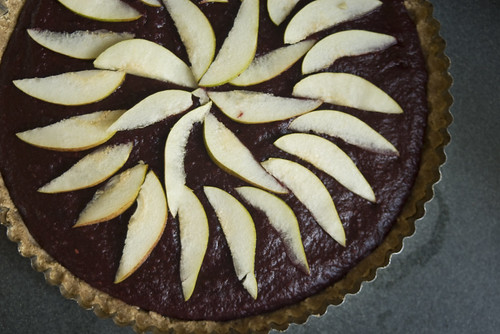 Blackberry Apple Tart (revisited)