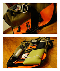 what's in my bag diptych (chunghow33) Tags: pen canon bag keys psp diptych wind wallet sony chrome stuff timbuk2 citizen whatsinmybag filofax msi pfe moneyclip ef24f28 audeo 400d