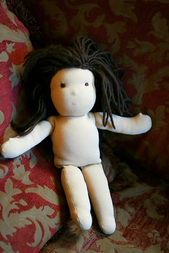 WIP Wednesday: My first Waldorf doll