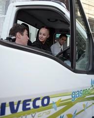 Gasrec / Iveco biomethane truck