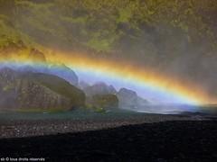 Skogafoss,Iceland (Olympe B.) Tags: iceland rainbow europe soe islande arcenciel skogafoss