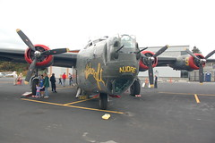 Front view of the B-25 and its propellors (Chris Devers) Tags: ford plane airplane ma airport massachusetts wwii airshow worldwarii ww2 norwood witchcraft 2009 liberator raf eto b24 worldwar2 worldwartwo bostonist generaldynamics collings collingsfoundation indianairforce wingsoffreedom norwoodma universalhub 8thairforce 5thairforce b24j b24liberator 15thaf cameranikond50 8thaf georgewreed 43rdbombgroup wingsoffreedomtour 15thairforce exif:exposure_bias=0ev exif:focal_length=18mm exif:exposure=0008sec1125 exif:aperture=f56 lens18200vr b24h camera:make=nikoncorporation exif:flash=offdidnotfire 4444052 467thbg tomreillyvintageaircraft consolidatedaircraftcompany 8thairforce467thbg 467thbattlegroup dragonhistail 467bg 790bs dougarnold 461stbombgroup camera:model=nikond50 meta:exif=1257921345 exif:orientation=horizontalnormal exif:lens=18200mmf3556 exif:filename=dscjpg exif:vari_program=auto exif:shutter_count=36026 meta:exif=1350401272