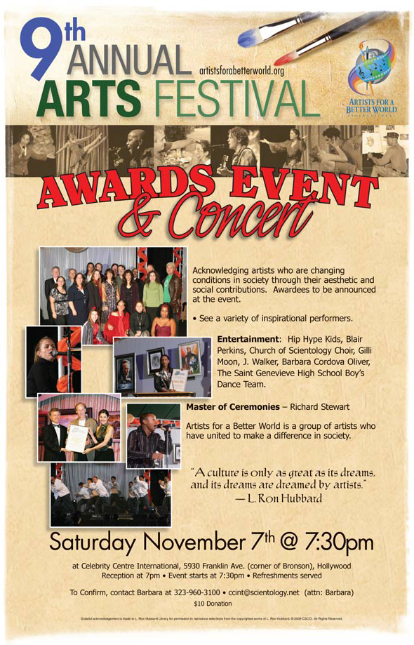 2009 AFABW Awards Event and Concert