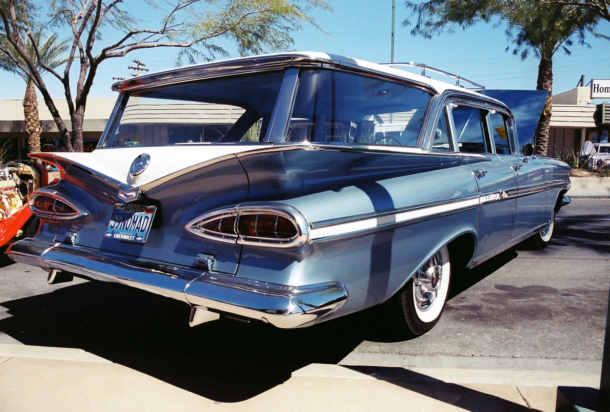 1959 Chevrolet Nomad. go back
