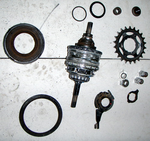 Internal assembly and misc. parts