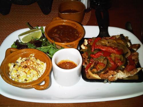 Chicken tacos @ Rosa Mexicano in NYC