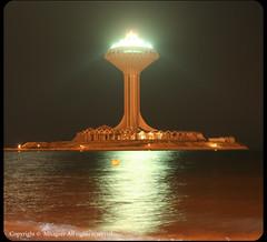 Water Tower ® بـرج المـاء الخبـر (iMhageer ©) Tags: tower water al برج khobar الرياض الخبر ديره عقب الماء كورنيش اطلق لـ اهلها ياحوبي