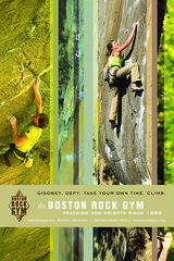BOSTON ROCK GYM POSTER