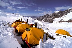 Camp 2 on the Russell Glacier (photo61guy) Tags: expedition alaska glacier climbing alpine mountaineering northface 1001nights tenting alpinism wrangells russellglacier photographyrocks superaplus aplusphoto theunforgettablepictures platinumheartaward artlegacy flickrestrellas mtbona spiritofphotography quarzoespecial discoveryphotos 100commentgroup artofimages platinumpeaceaward bestcapturesaoi thebestofcengizsqueezeme2groups newgoldenseal 1001nightsmagiccity elitegalleryaoi mygearandmepremium mygearandmebronze mygearandmesilver mygearandmegold ringexcellence dblringexcellence tplringexcellence eltringexcellence