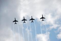 (vestman) Tags: finland airport helsinki fighter force display hawk air jet formation airshow midnight finnish bae trainer hawks advanced aerobatics malmi d40x afsnikkor18200mm13556ged