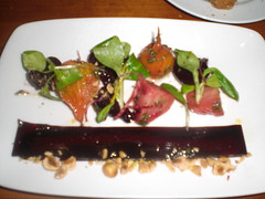Beet Salad with Hazelnuts and Gorgonzola (tetedemelon) Tags: hearth