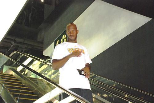 Chauncey Billups at adidas Sanlitun