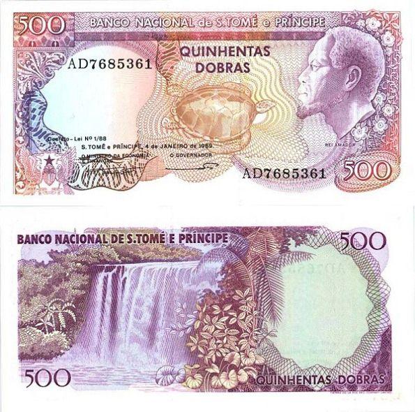 500 Dobras Svätý Tomáš a Princov ostrov 1989