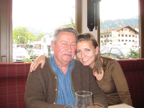 My father (shown here, almost smiling) always takes us to Renzos - his favorite Italian restaurant in Germany. Its consistently fantastic, and only locals seem to know about it.