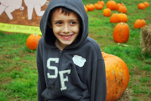 Nick Pumpkin Patch 2009