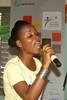 PASCH - Schulen, Partner der Zukunft. Ambassadrice Priss'k au Lycée Moderne de Jeunes Filles de Yopougon, Abidjan, Côte d'Ivoire 30.10.2009 (0811)