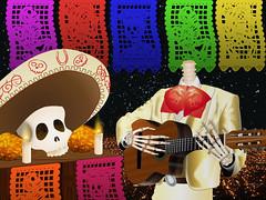 Serenata a la calaca (oscbennetts) Tags: mariachi calavera ofrenda calaverita