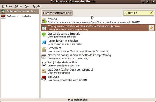 Instalar Compiz Config Ubuntu