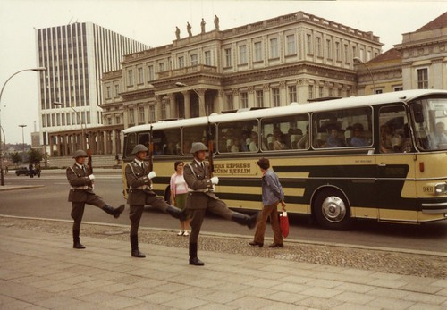 East Berlin 1980 - Goosestepping