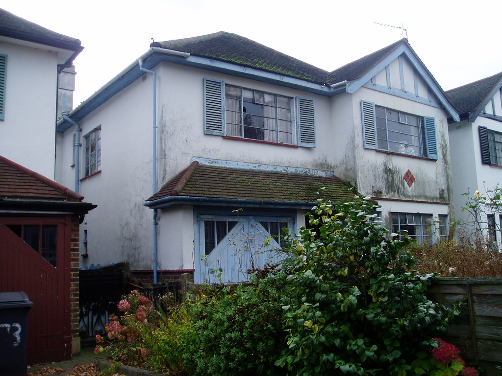 1930s house, Crittall windows, Chase Side, Southgate, London
