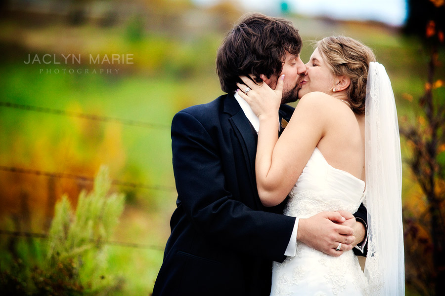 Lawrence, Kansas wedding photography in the fall