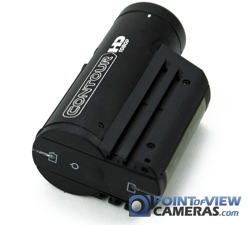 VholdR ContourHD 1080p: True HD Helmet Camera - Back Angle View
