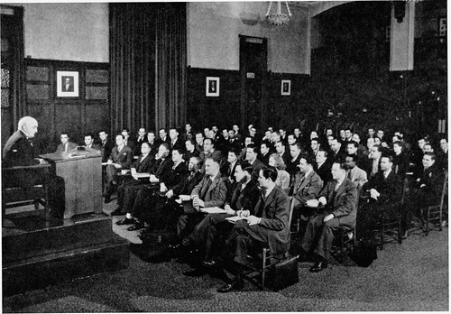 Lecture Class (1940) - The John Marshall Law School, Chicago IL