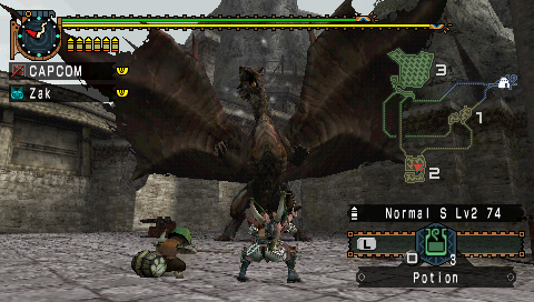 how to play monster hunter 3