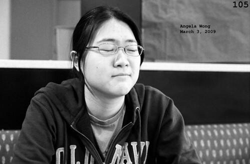 Angela Wong, March 3, 2009