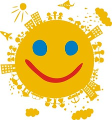 smile (kucherenko.anastasiia) Tags: world street city boy people cloud sun house plant abstract building tree green love nature ecology girl car rain silhouette garden season happy spring peace child earth pigeon dove card round planet daisy environment concept cloth shape enjoying vector emoticon