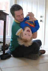 Playing with Uncle Rob