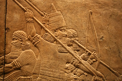 Assyrian King Ashurbanipal (a2portfolio) Tags: london iraq britishmuseum mesopotamia assyrian asur astoundingimage doubledragonawards flickraward