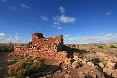 native american indian ruins (russ david) Tags: arizona monument ruins native indian pueblo september national american 2009 wupatki dwellings