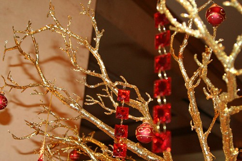 Gilded branches
